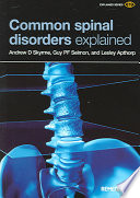 Common Spinal Disorders Explained