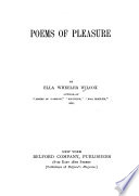 Poems of Pleasure