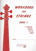 Workbook for Strings  Bk 1  Violin
