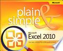 Microsoft Excel 2010 Plain   Simple