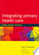 Integrating Primary Health Care