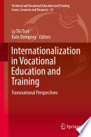 Internationalization In Vocational Education And Training