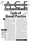 ACE Bulletin