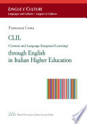 CLIL  Content and Language Integrated Learning  through English in Italian Higher Education