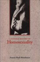 A Natural History of Homosexuality Book