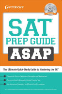 SAT Prep Guide ASAP  The Ultimate Quick Study Guide