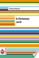 A Christmas carol (low cost). Limited edition
