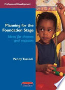Planning For The Foundation Stage