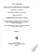 Las Obras De Cayo Cornelio Tacito