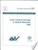 Laser induced damage in optical materials  1986