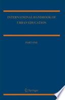 International Handbook of Urban Education