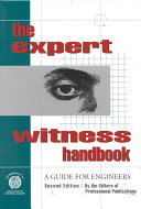 The expert witness handbook