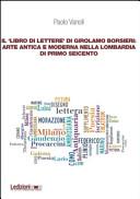 Il   libro di lettere   di Girolamo Borsieri  arte antica e moderna nella Lombardia di primo Seicento