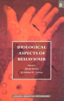 Biological Aspects of Behaviour