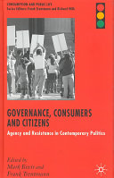 Governance, Citizens and Consumers