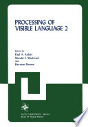 Processing of Visible Language
