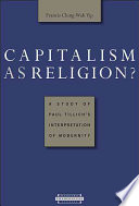 Capitalism as Religion  A Study of Paul Tillich s Interpretation of Modernity