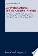 Der Protestantismus und die russische Theologie
