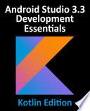 Android Studio 3 3 Development Essentials Kotlin Edition