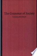 The Grammar of Society Book PDF