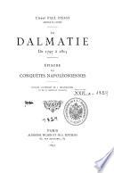 La Dalmatie De 1797 A 1815