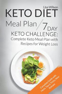 Keto Diet Meal Plan 7 Day Keto Challenge
