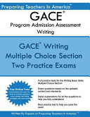 Gace Writing Program Admission Assessment