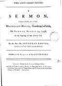 download ebook the lost sheep found. a sermon pdf epub