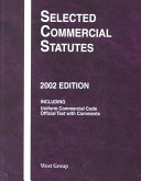 Selected Commercial Statutes, 2002