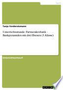 Unterrichtsstunde: Partnerakrobatik - Bankpyramiden mit drei Ebenen (3. Klasse)
