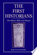 The First Historians