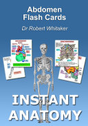 Instant Anatomy Abdomen Flash Cards