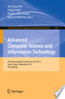 Advanced Computer Science and Information Technology
