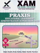 Praxis Educational Leadership  Administration and Supervision 0410