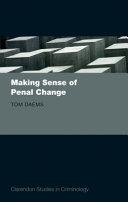 Making Sense of Penal Change
