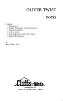 Cliffs notes on Dickens  Oliver Twist