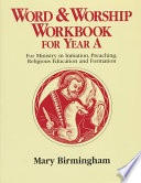 Ebook Word and Worship Workbook for Year A Epub Mary Birmingham Apps Read Mobile