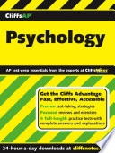 CliffsAP Psychology  An American BookWorks Corporation Project