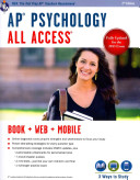 AP R  Psychology All Access Book   Online   Mobile