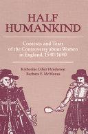 Half Humankind