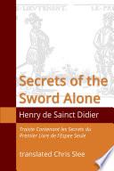 Secrets of the Sword Alone (Translated)