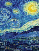 Van Gogh s Starry Night  Artist Drawing Pad