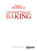 Great American Brand Name Baking