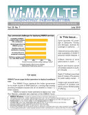 WiMAX Monthly Newsletter July 2010
