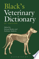 Black s Veterinary Dictionary