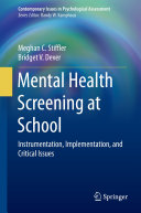 download ebook mental health screening at school pdf epub
