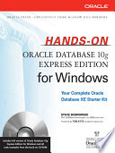 Hands On Oracle Database 10g Express Edition for Windows
