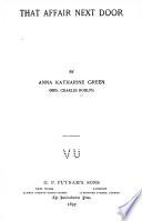 That Affair Next Door Book PDF