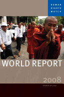 Human Rights Watch World Report 2008