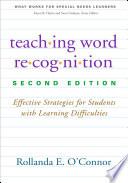 Teaching Word Recognition  Second Edition